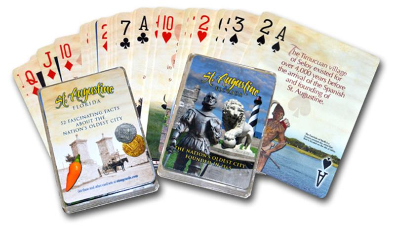 St Augustine Playing Cards