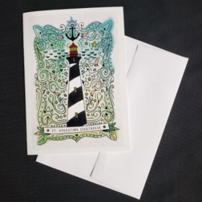 Nautical Watercolor Notecard