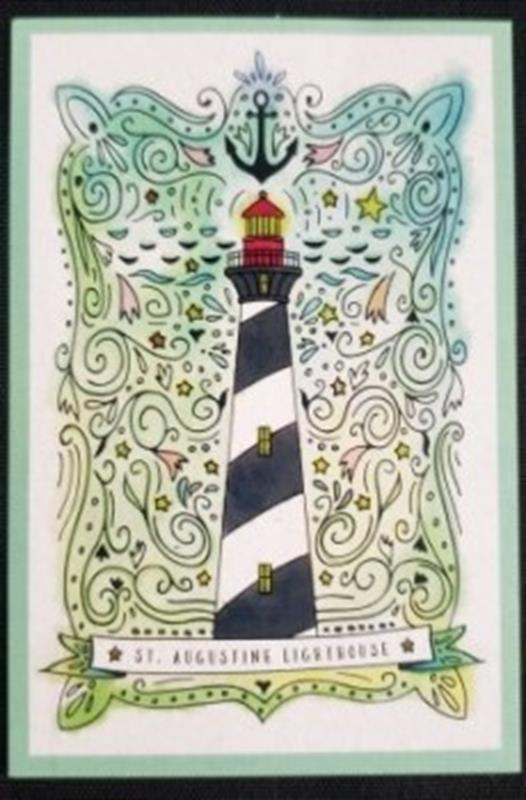 Nautical Watercolor Sticker