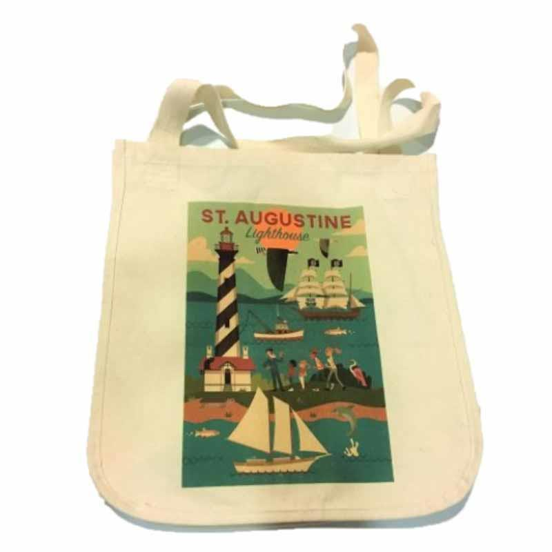 Lighthouse Geo Tote,1059