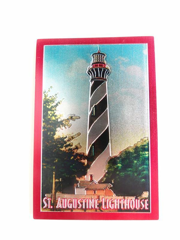 Lighthouse Foil Magnet