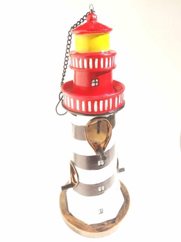 Lighthouse Birdhouse Feeder,BFPR-0001