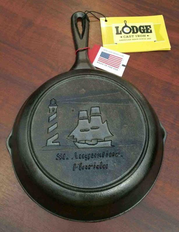 Ship Cast Iron Pan
