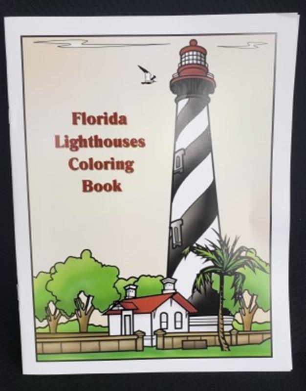FL Lighthouses Coloring Book
