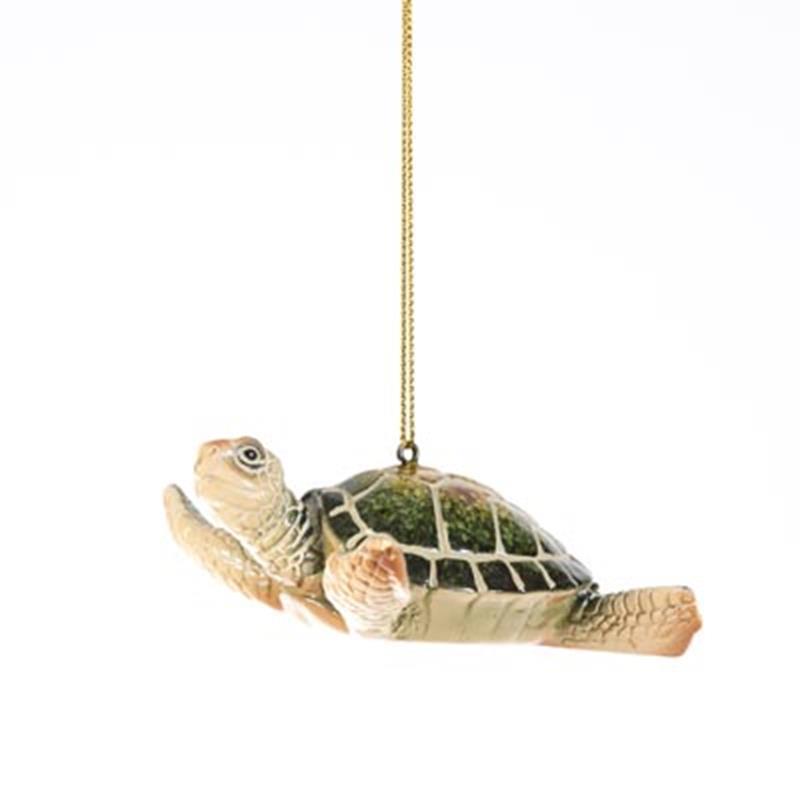 Green Sea Turtle Ornament,X363