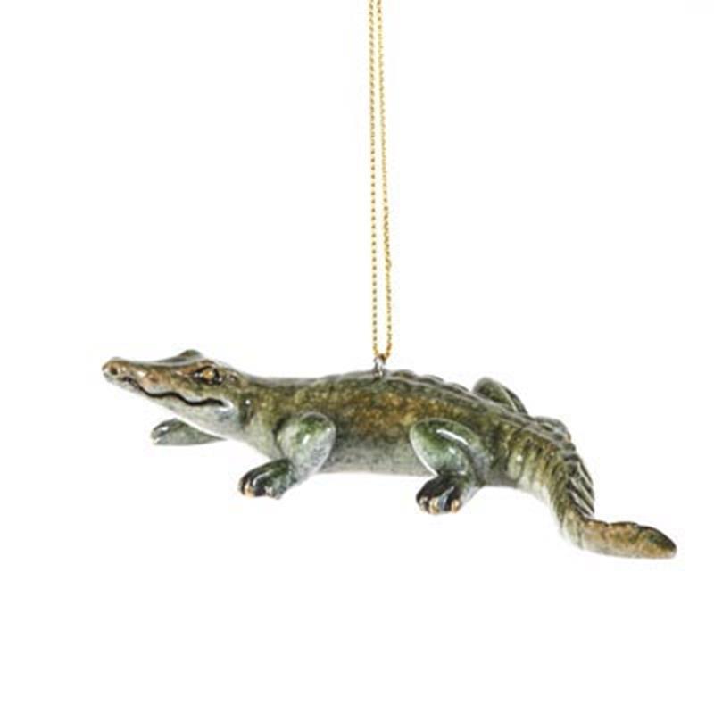 Alligator Ornament,X366