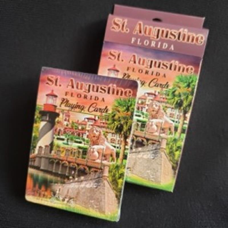 St. Aug Collage Playing Cards,43149