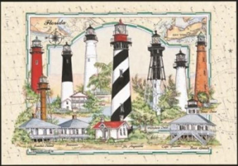 Puzzle Florida Lighthouses,10515
