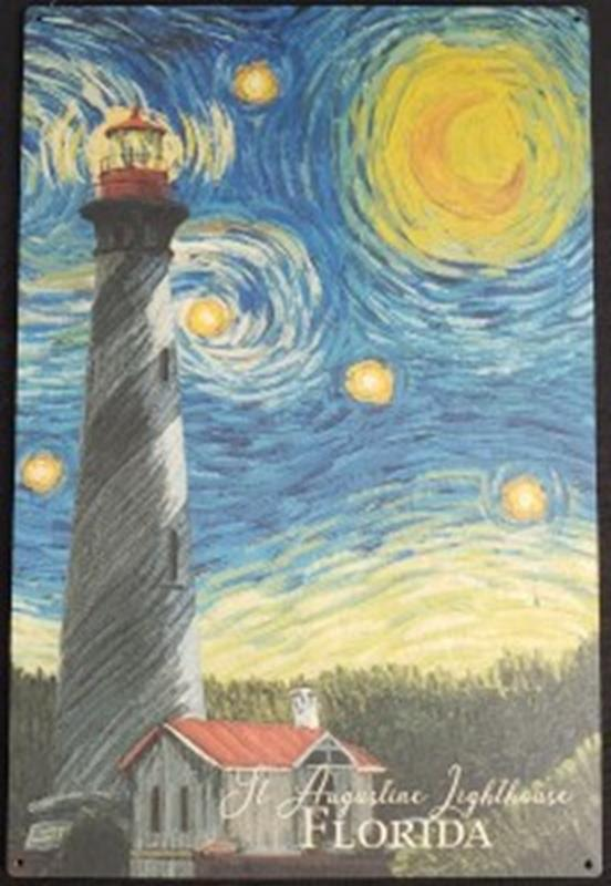 Starry Night 10x15 Wood Sign,80491