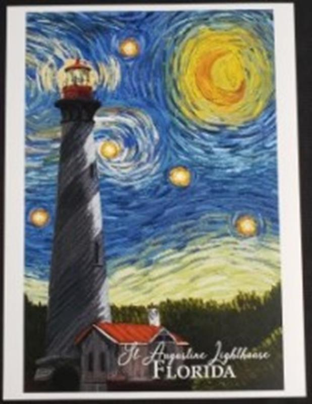 Starry Night 9 x 12 Print,80493
