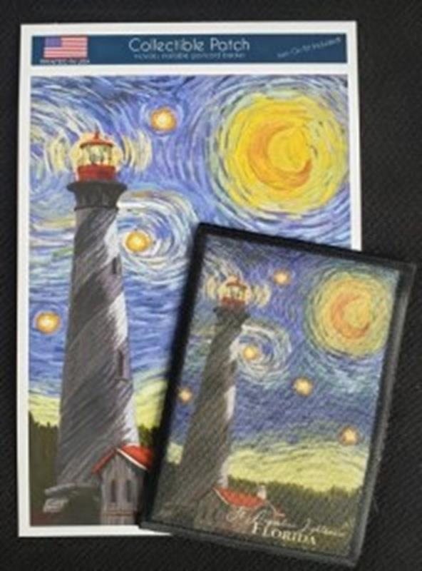 Starry Night Patch,80496