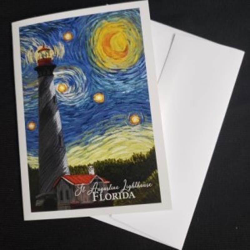 Starry Night Notecard,80497
