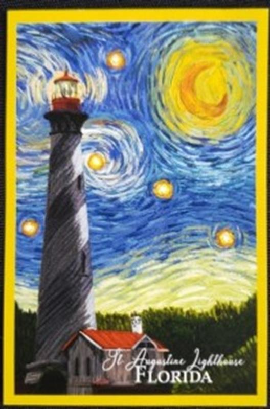 Starry Night Sticker,80498