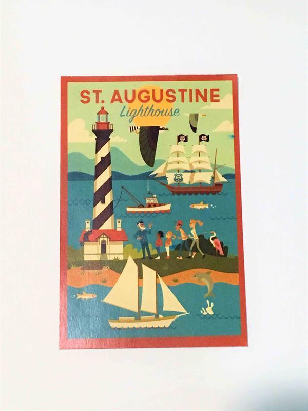 Lighthouse Geo Sticker,96075